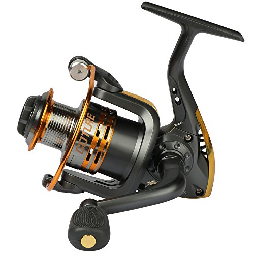 Pisfun Spinning Fishing Reel Metal Spool 6bb for Freshwater Saltwater 500 1000 2000 3000 4000 5000 6000 Series