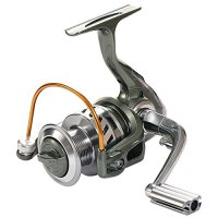 Rose Kuli Spinning Reel Metal Spool Baitcasting Fishing Reel 12+1 Ball Bearings for Freshwater and Saltwater 3000 4000 Series