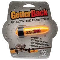 GetterBack Rod Recovery System with Black Velcro Strap, Yellow