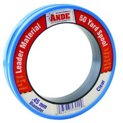 Ande Clear Monofilament Leader 50yd