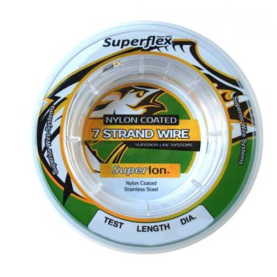 Superflex 7 Strand Wire Nylon Coated 10m no specifics
