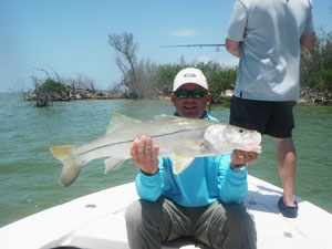 June 2012 fishing report for Everglades fishing