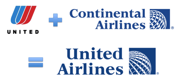logo update - united airlines merger