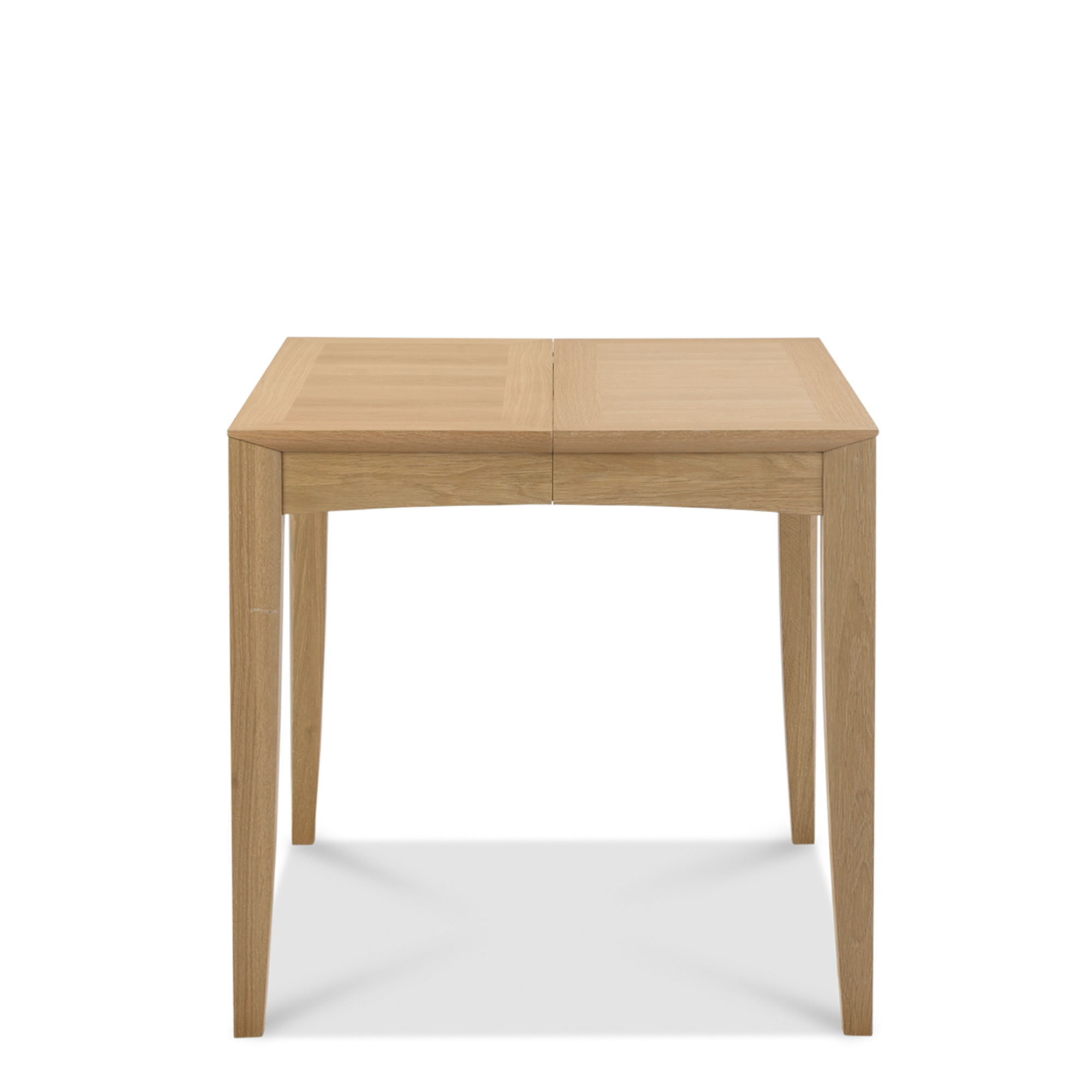 bremen 80cm extending dining table with oak finish