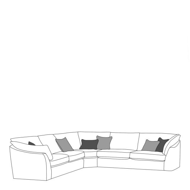 Infinity Corner Sofa Group Fishpools