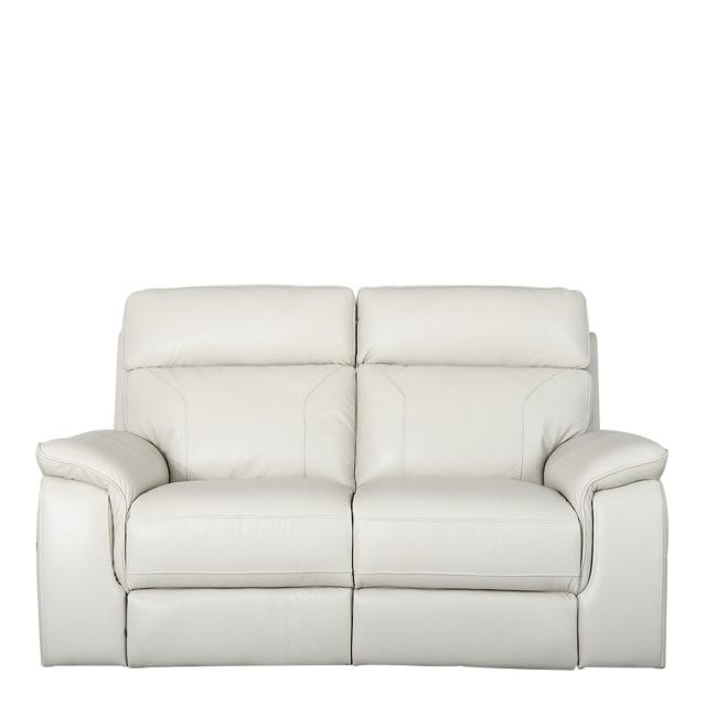 sorrento 2 seat sofa in leather
