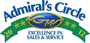 Admiral's Circle Excellence in Sales & Service