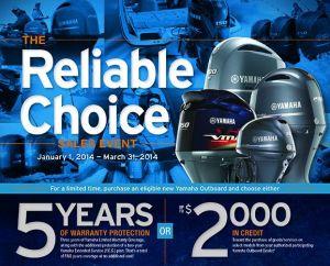 Yamaha Reliable Choice