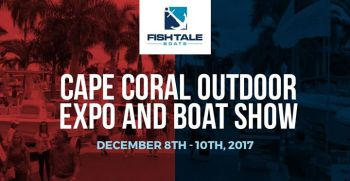 Fish Tale Boats at the 2017 Cape Coral Outdoor Expo & Boat Show