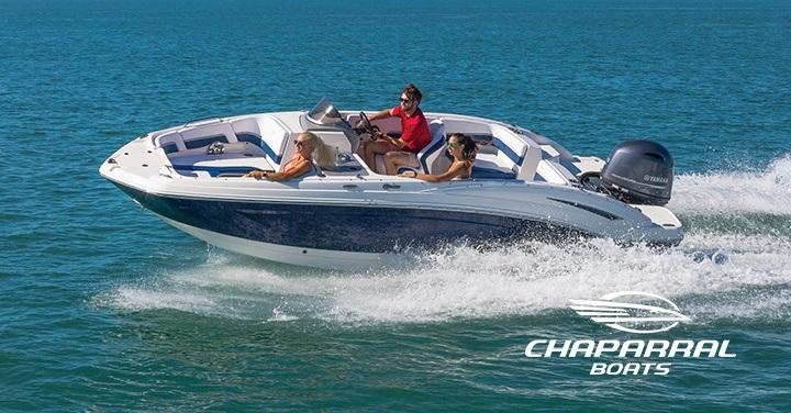 model spotlight: chaparral 191 suncoast deck boat   fish tale boats  fish tale boats