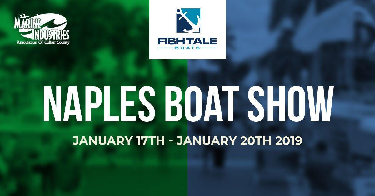 Naples Boat Show flyer
