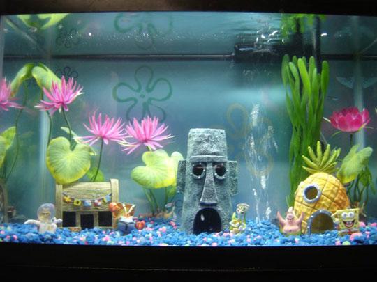 Themed Aquarium Decorations