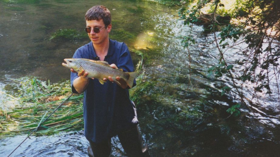 Itchen trout, 1997