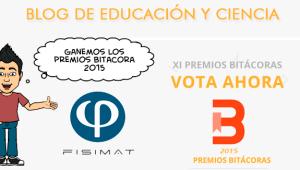 Ayúdanos a ganar los premios Bitácora 2015