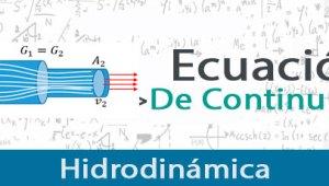 Ecuación de Continuidad – Ejercicios Resueltos