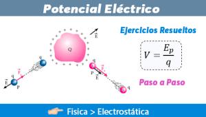 Potencial Eléctrico – Ejercicios Resueltos