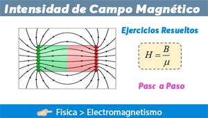 Intensidad de Campo Magnético – Ejercicios Resueltos