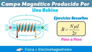 Campo Magnético producido por una Bobina