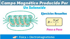 Campo Magnético Producido por un Solenoide