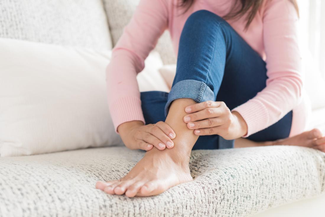 Decorso clinico della distorsione acuta di caviglia