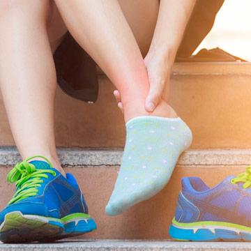 Valutazione clinica della distorsione laterale di caviglia