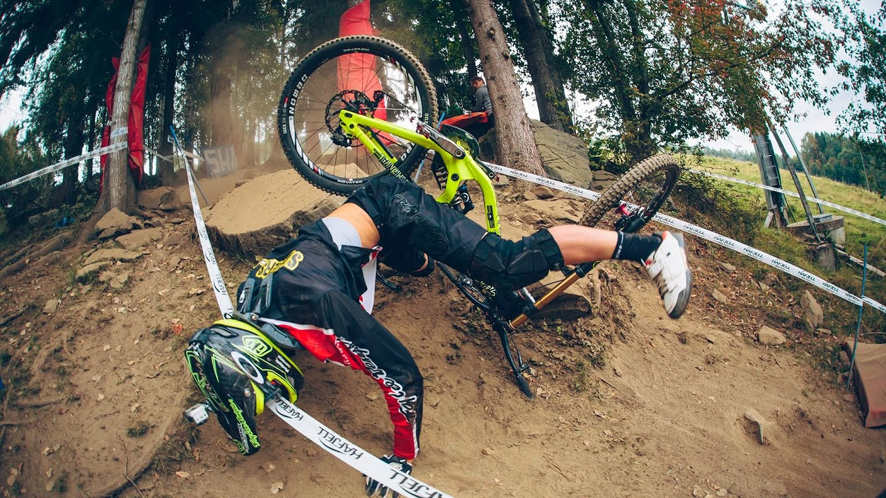 Infortuni in mountain bike durante le Enduro World Series (EWS)