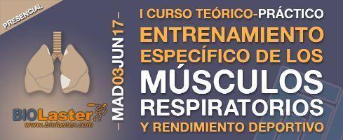 I Curso entrenamiento músculos respiratorios