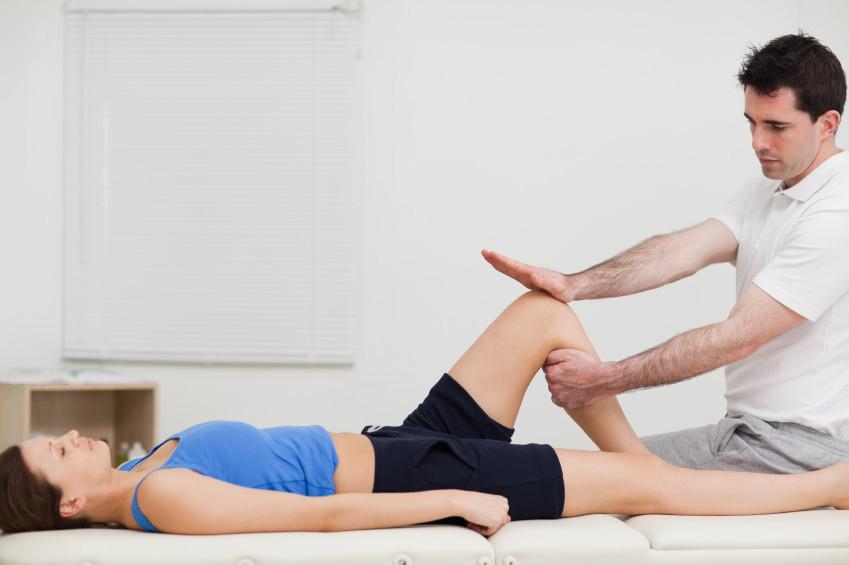 El masaje de descarga en fisioterapia