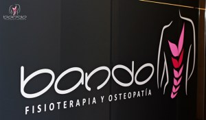 Clínica Fisioterapia Bando. Logo Fisioterapia Bando