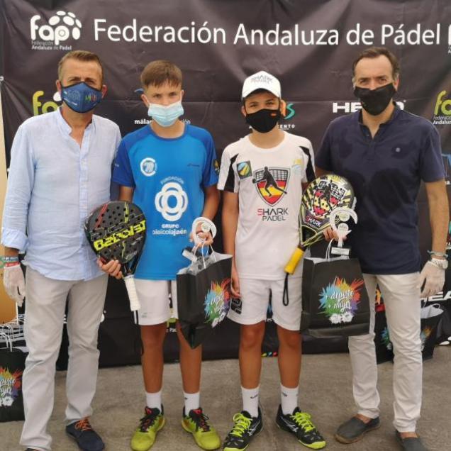 fisioterapialinares-4º Prueba de Pádel del circuito andaluz de menores tenemos campeones-3