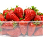 Strawberries in Plastic Trays