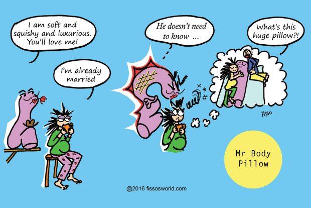 Mr Body Pillow Pregnancy Cartoons Fissos World Dragon