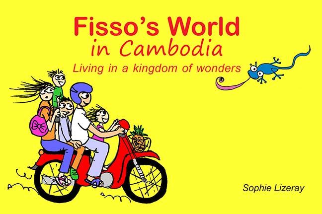 Fisso's World in Cambodia Cartoon Book