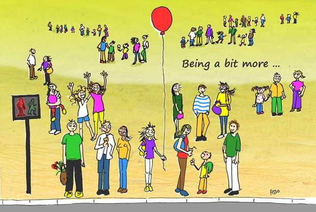 OM my Yoga Cartoon Story Fissos World On Yoga Journey 35
