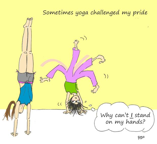 OM my Yoga Cartoon Story Fissos World On Yoga Journey 13