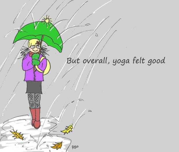 OM my Yoga Cartoon Story Fissos World On Yoga Journey 15