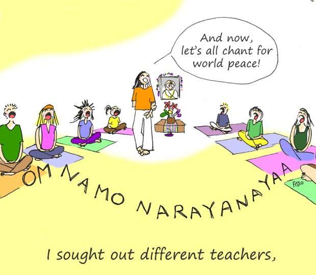 OM my Yoga Cartoon Story Fissos World On Yoga Journey 18