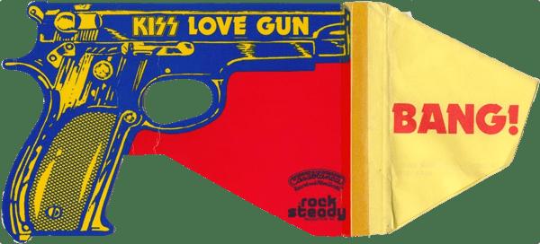 """Kiss """"Love Gun"""" Gun"""