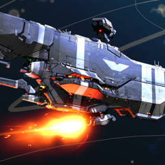 Homeworld 2Concept Art - Rob Cunningham - Vaygr Heavy Cruiser Concept