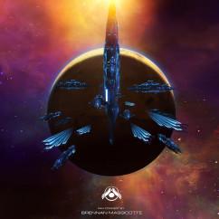 Homeworld 2 Fan Art - Brennan Masicotte - Fleet Array