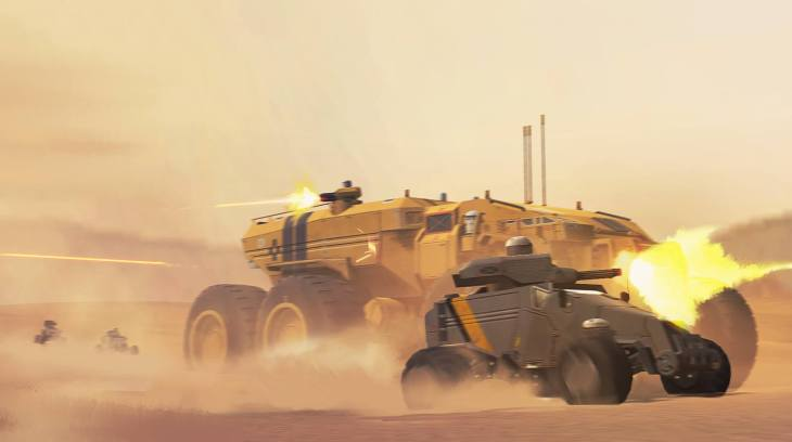Desert Warfare - Deserts of Kharak