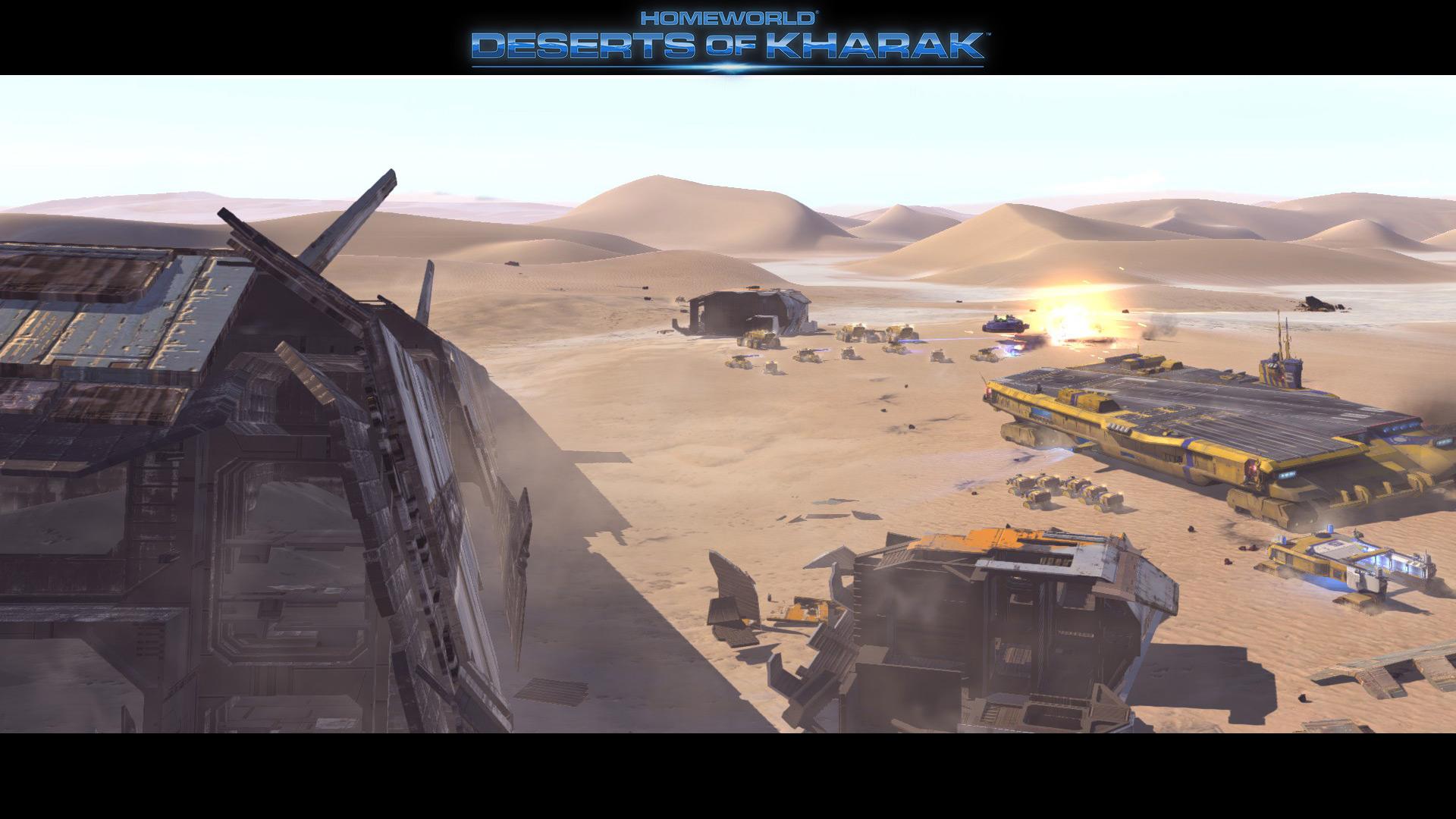 Deserts of Kharak - Screenshot - Carrier Armada Skirmish - BBI
