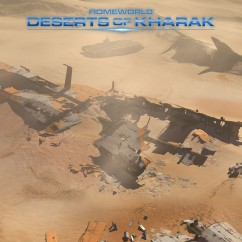 Deserts of Kharak - Screenshot - Desert Shipwreck - BBI