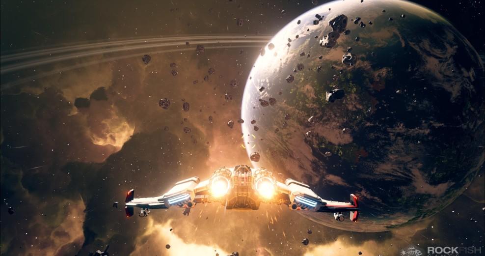 Everspace - Screenshots - Dark Space - Rockfish Games