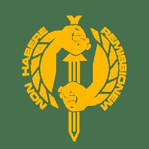 Fists of Heavens Logo Emblem Yellow