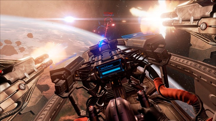 eve valkyrie dropping planetfall