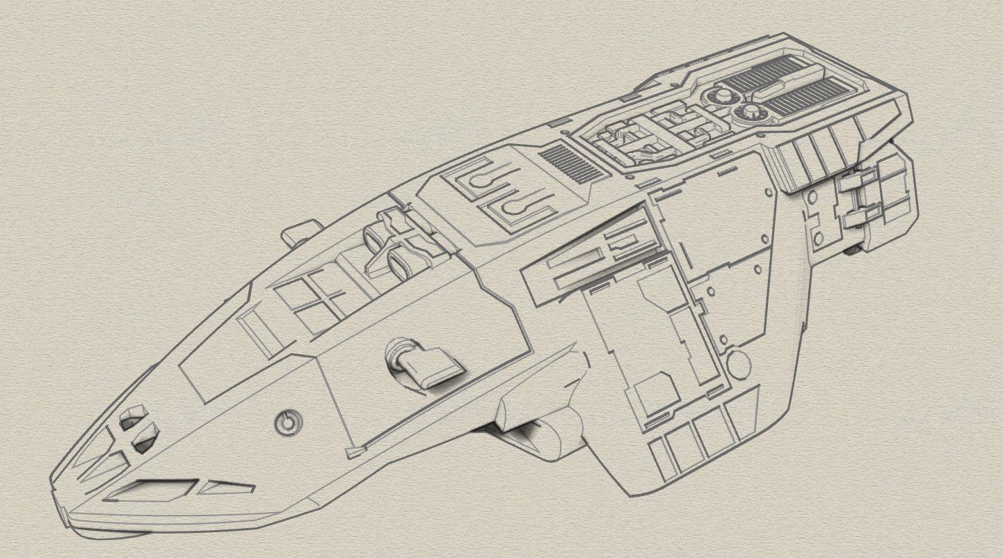 Impache Superba Model Sketch