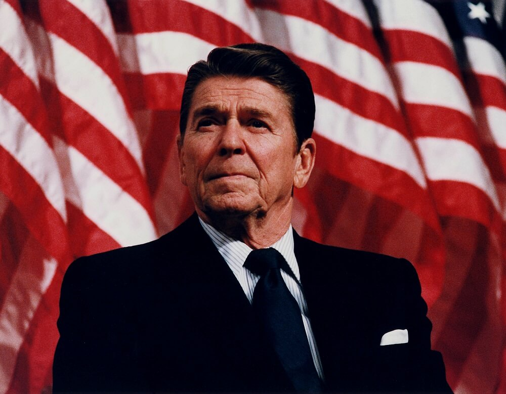 real life star wars President_Reagan