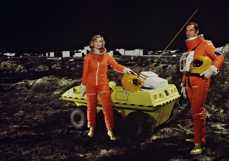 Space 1999 Show Screenshot: Space Buggy