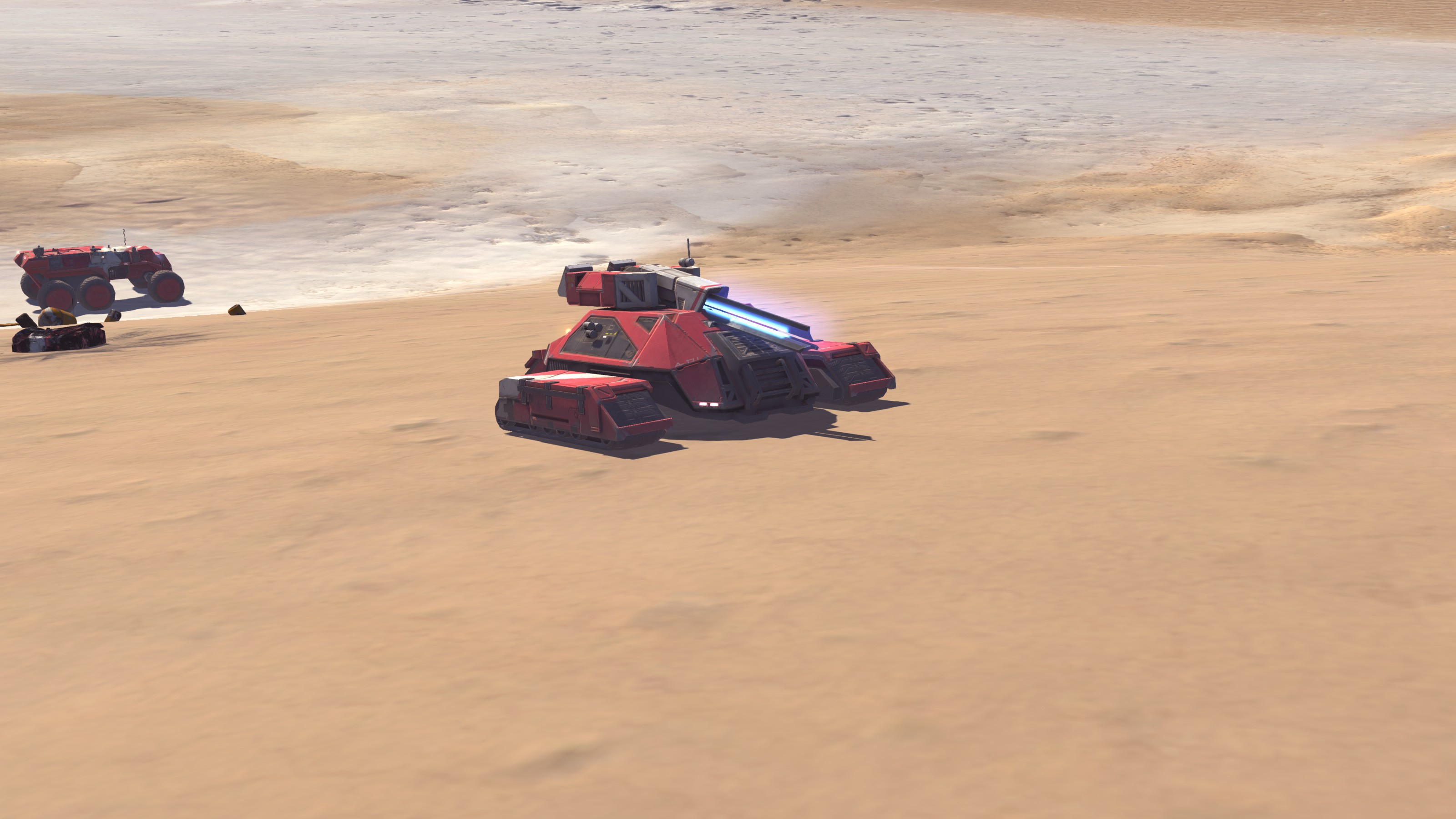 Deserts of Kharak Soban Fleet Pack - Railgun - Fists of Heaven